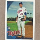 2010 Topps Baseball Alex Burnett RC Twins #469