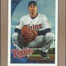 2010 Topps Baseball Drew Butera RC Twins #471