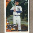 2010 Topps Baseball Scott Sizemore RC Tigers #513