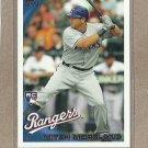2010 Topps Baseball Mitch Moreland RC Rangers #US-202