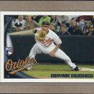 2010 Topps Baseball Rhyne Hughes RC Orioles #US-282