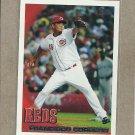 2010 Topps Baseball Francisco Cordero Reds #79