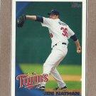 2010 Topps Baseball Joe Nathan Twins #93