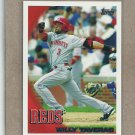 2010 Topps Baseball Willy Taveras Reds #113