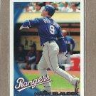 2010 Topps Baseball Hank Blalock Rangers #127