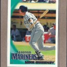 2010 Topps Baseball Mike Sweeney Mariners #157