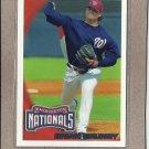 2010 Topps Baseball Brian Bruney Nationals #343