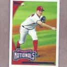 2010 Topps Baseball Jordan Zimmermann Nationals #348