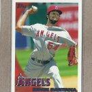 2010 Topps Baseball Ervin Santana Angels #390