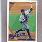 2010 Topps Baseball Manny Parra Brewers #391