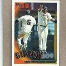 2010 Topps Baseball Giants Team Card #412