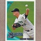 2010 Topps Baseball Sean West Marlins #414