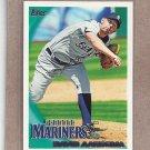 2010 Topps Baseball David Aardsma Mariners #419