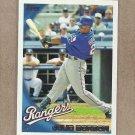 2010 Topps Baseball Julio Borbon Rangers #433