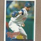 2010 Topps Baseball Francisco Liriano Twins #464