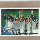 2010 Topps Baseball Yankees Team Card #470