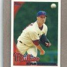 2010 Topps Baseball Kyle Kendrick Phillies #474