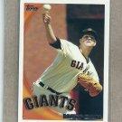 2010 Topps Baseball Matt Cain Giants #531