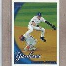 2010 Topps Baseball Derek Jeter Yankees #549