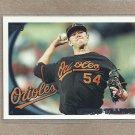 2010 Topps Baseball Chris Tillman Orioles #552