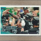 2010 Topps Baseball Marlins Team Card #553