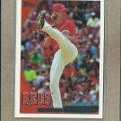 2010 Topps Baseball Bronson Arroyo Reds #563