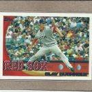 2010 Topps Baseball Clay Buchholz Red Sox #572