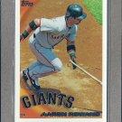 2010 Topps Baseball Aaron Rowand Giants #578