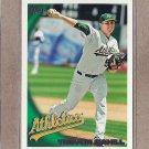 2010 Topps Baseball Trevor Cahill A's #579