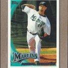2010 Topps Baseball Anibal Sanchez Marlins #583