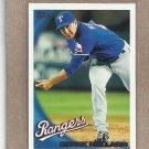 2010 Topps Baseball Derek Holland Rangers #593