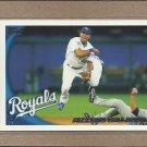 2010 Topps Baseball Alberto Callaspo Royals #598