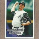 2010 Topps Baseball Aaron Cook Rockies #621