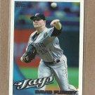 2010 Topps Baseball David Purcey Blue Jays #644