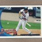 2010 Topps Baseball Chipper Jones Braves #652