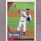 2010 Topps Baseball Collin Balester Nationals #654