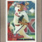 2010 Topps Baseball Ryan Madson Phillies #655