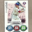 2010 Topps Baseball Attax Chase Utley