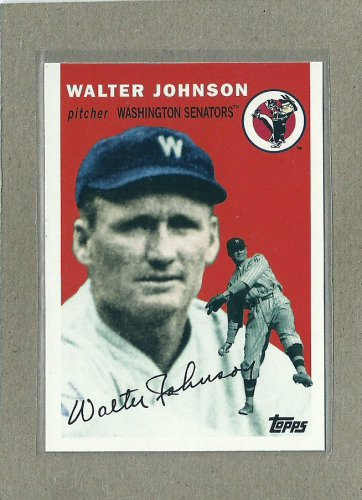 2010 Topps Baseball Vintage Legends Walter Johnson #VLC8