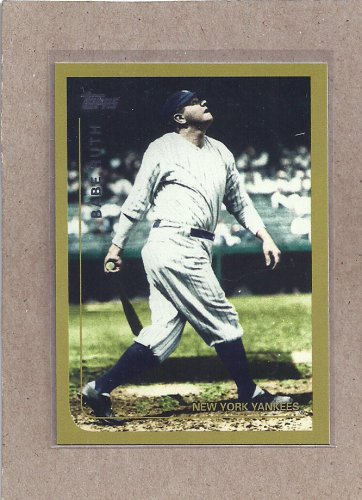 2010 Topps Baseball Vintage Legends Babe Ruth #VLC 10