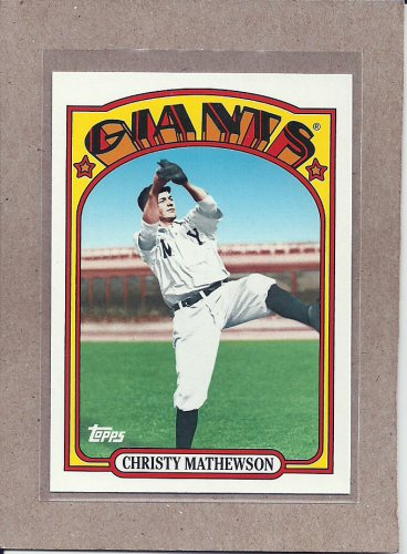 2010 Topps Baseball Vintage Legends Christy Mathewson #VLC11