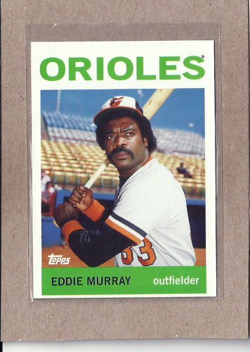 2010 Topps Baseball Vintage Legends Eddie Murray #VLC13