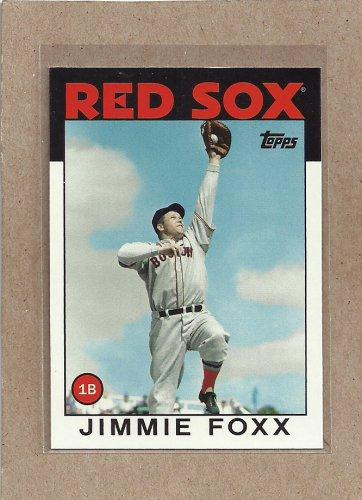 2010 Topps Baseball Vintage Legends Jimmie Foxx #VLC15