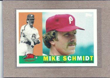 2010 Topps Baseball Vintage Legends Mike Schmidt #VLC17