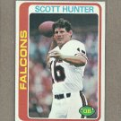 1978 Topps Football Scott Hunter Falcons #36