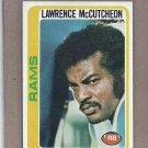 1978 Topps Football Lawrence McCutcheon Rams #45