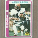 1978 Topps Football Archie Griffin Bengals #55