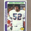 1978 Topps Football Mike Montler Broncos #83