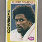 1978 Topps Football Robert Newhouse Cowboys #86