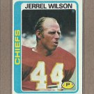 1978 Topps Football Jerrel Wilson Chiefs #142